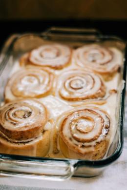 Hot ruddy buns